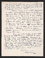 View Max Weber, Long Island, N.Y. letter to Rockwell Kent, Ausable Forks, N.Y. digital asset: verso