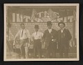 View Four unidentified men photographed in Winona, Minnesota digital asset number 0