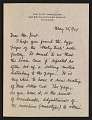 View W. A. Kittredge letter to Rockwell Kent digital asset number 0