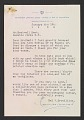 View Hal W. Trovillion letter to Rockwell Kent with enclosed bookplate digital asset number 0