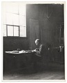 View Rockwell Kent working at a desk digital asset number 0