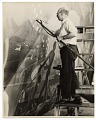 View Rockwell Kent working on a mural for the World's Fair digital asset number 0