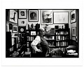 View Harold Hugo in his study digital asset number 0