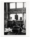 View Harold Hugo in his studio digital asset number 0