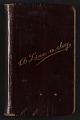 View Henry Hudson Kitson diary digital asset: cover
