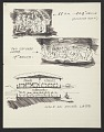 View Eero Saarinen travel sketches to Florence Knoll Bassett digital asset number 3