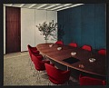 View Connecticut General Building conference room designed by Florence Knoll Bassett digital asset number 1
