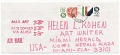 View Miguel Cubiles, Mexico, to Helen L. Kohen, Miami, Fla. digital asset: envelope