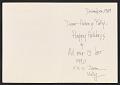 View Joan Rubin holiday card to Helen L. Kohen digital asset number 1