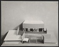 View Model of a school in Attleboro, Mass., complete with mock-up of a mural by Robert Motherwell digital asset number 0