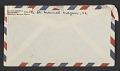View Mathias Goeritz, Cuernavaca, Mexico letter to Albert Kotin, New York, N.Y. digital asset: envelope verso