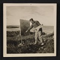 View Walt Kuhn painting outdoors in Ogunquit, Maine digital asset number 0