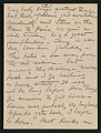 View Walt Kuhn, Paris, France letter to Vera Kuhn, Chevy Chase, Md. digital asset: page 4
