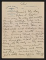 View Walt Kuhn, Paris, France letter to Vera Kuhn, Chevy Chase, Md. digital asset: page 5
