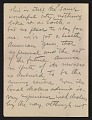 View Walt Kuhn, Paris, France letter to Vera Kuhn, Chevy Chase, Md. digital asset: page 7