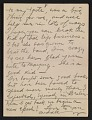 View Walt Kuhn, Paris, France letter to Vera Kuhn, Chevy Chase, Md. digital asset: page 8