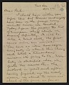 View Walt Kuhn letter to Walter Pach digital asset: page