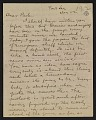 View Walt Kuhn letter to Walter Pach digital asset number 0