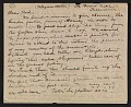 View Walt Kuhn and Arthur Davies letter to Walter Pach digital asset number 0
