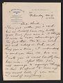 View Walt Kuhn letter to Vera Kuhn digital asset number 0