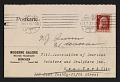 View An entry card from Heinrich Thannhauser of the Moderne Galerie to the Association of American Painters and Sculptors, inc. digital asset number 0