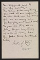 View Walt Kuhn, Boston, Mass. letter to Vera Kuhn, Fort Lee, N.J. digital asset: page 3