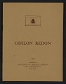 View Odilon Redon digital asset: cover