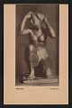 View Armory show postcard with reproduction of a bronze sculpture by Manolo digital asset number 0