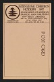 View Armory show postcard with reproduction of a sculpture by J. Mowbray-Clarke digital asset: verso