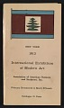 View Catalogue of the <em>International Exhibition of Modern Art</em> in New York digital asset: cover
