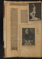 View Walt Kuhn scrapbook of press clippings documenting the Armory Show, vol. 1 digital asset: pages 13