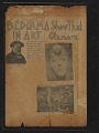 View Walt Kuhn scrapbook of press clippings documenting the Armory Show, vol. 2 digital asset: pages 82