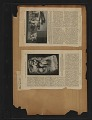 View Walt Kuhn scrapbook of press clippings documenting the Armory Show, vol. 2 digital asset: pages 135