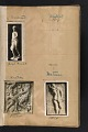 View Walt Kuhn scrapbook of artworks from the Armory Show digital asset: page 4