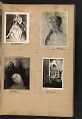 View Walt Kuhn scrapbook of artworks from the Armory Show digital asset: page 12