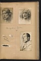 View Walt Kuhn scrapbook of artworks from the Armory Show digital asset: page 38