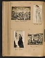 View Walt Kuhn scrapbook of artworks from the Armory Show digital asset: page 39
