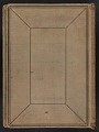 View Walt Kuhn scrapbook of artworks from the Armory Show digital asset: cover back
