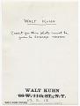 View Walt Kuhn digital asset: verso