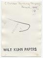 View Walt Kuhn painting in Prescott digital asset: verso