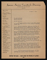 View Japanese American Committee for Democracy digital asset number 1