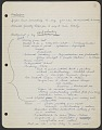 View Yasuo Kuniyoshi notes for his autobiography digital asset number 0