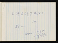 View Bernard Langlais notepad filled with notes and sketches digital asset number 2