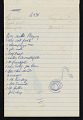 View Bernard Langlais notepad filled with notes and sketches digital asset number 7