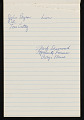 View Bernard Langlais notepad filled with notes and sketches digital asset number 10