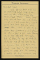 View Bernard Langlais letter to Aunt Isabell digital asset number 0