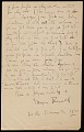 View Morgan Russell letter to Jean Gabriel Lemoine digital asset: verso