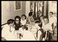 View Robert Rauschenberg, Leo Castelli and others at a dinner in Venice, Italy digital asset number 0