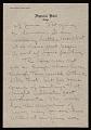 View Jasper Johns letter to Leo Castelli digital asset number 0