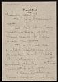 View Jasper Johns letter to Leo Castelli digital asset number 3